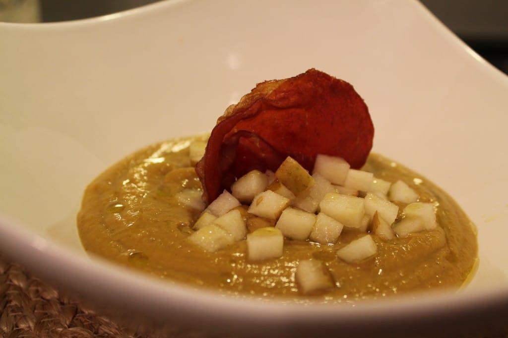 ... Squash and Chestnut Soup with Pear & Crispy Prosciutto – fastPaleo