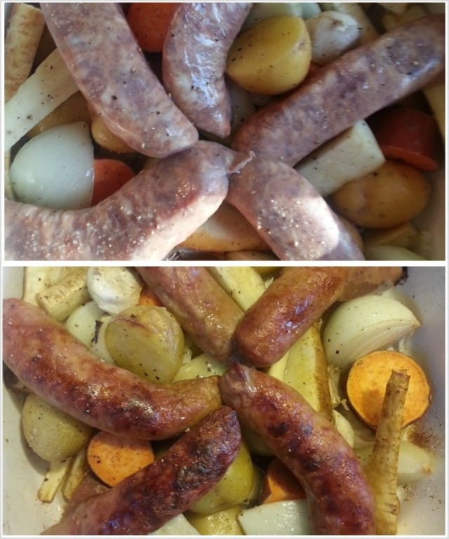 Roasted Sausage with Root Vegetables – fastPaleo