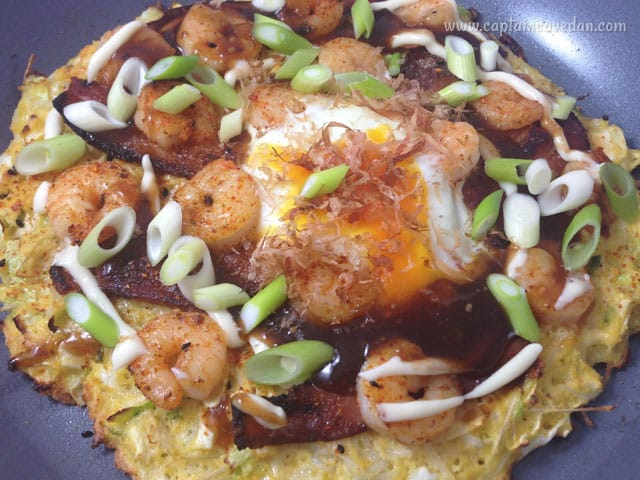 how to make japanese okonomiyaki pancakes