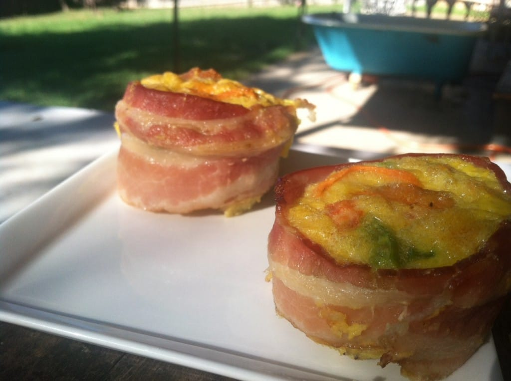 Bacon Wrapped Egg Muffins Fastpaleo