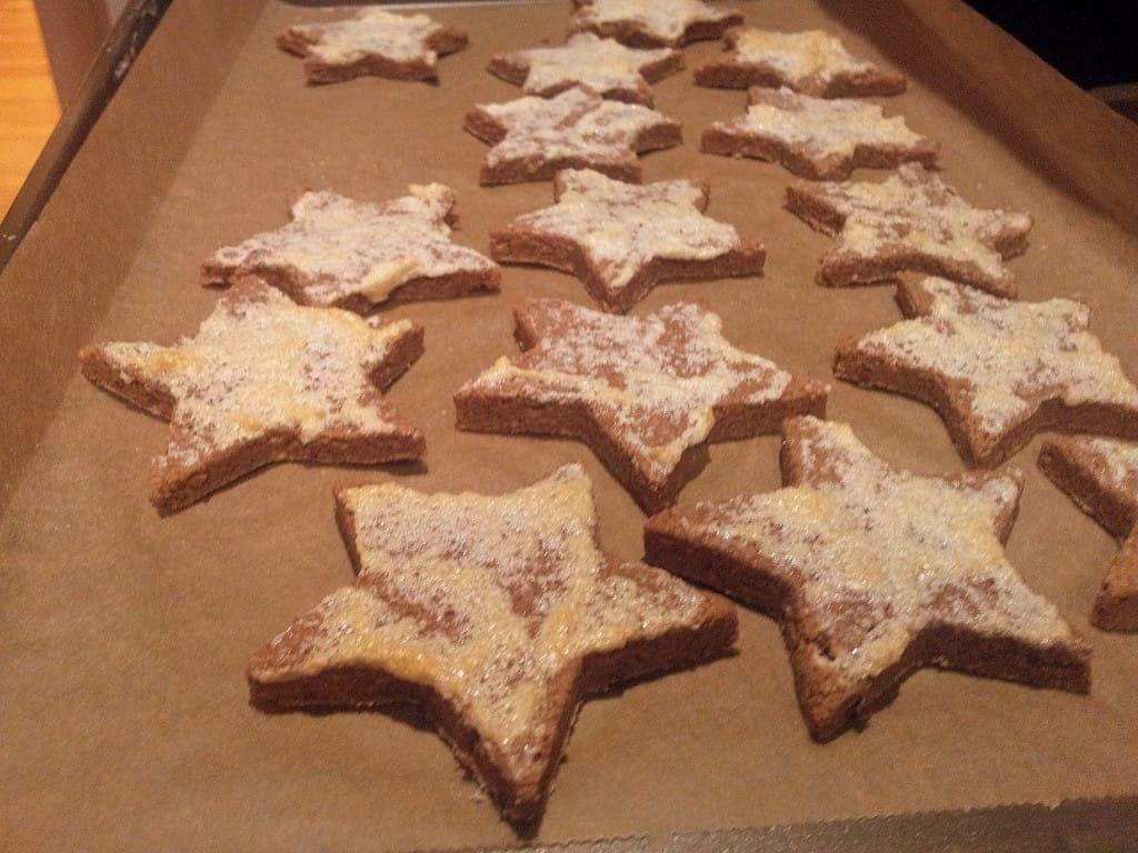 German Cinnamon Star Cookies Fastpaleo